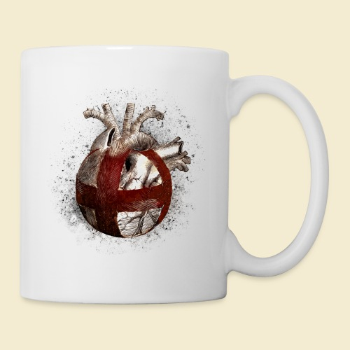 Radball | Cycle Ball Heart - Tasse