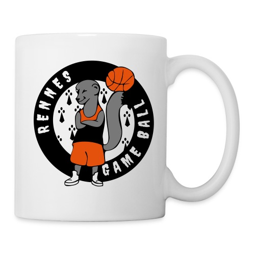 rennes game ball - Mug blanc