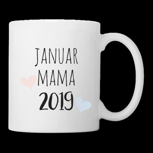 Januar Mama 2019 - Tasse