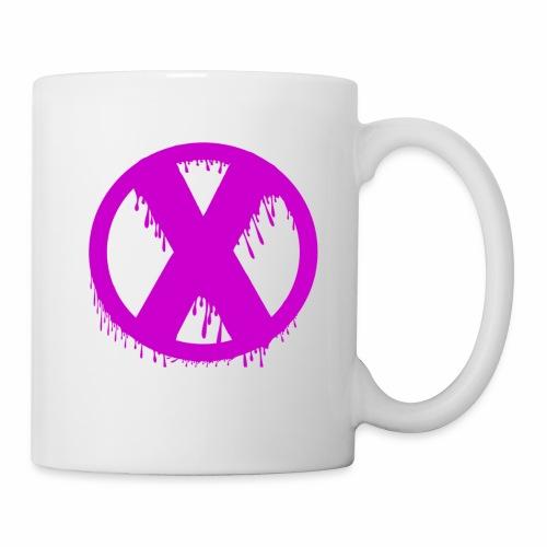 X - Mug blanc