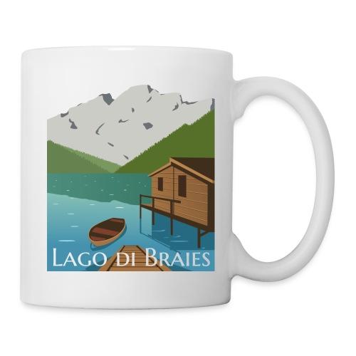 Illustrazione Lago di Braies - Tazza