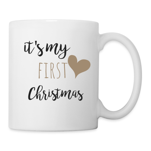 it's my first christmas - Tasse