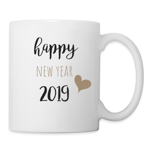 Happy New Year 2019 - Tasse