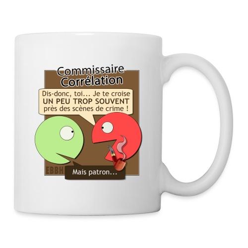Commissaire Corrélation - Mug blanc