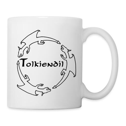 Tolkiendil & Trois dragons (creux) - Mug blanc