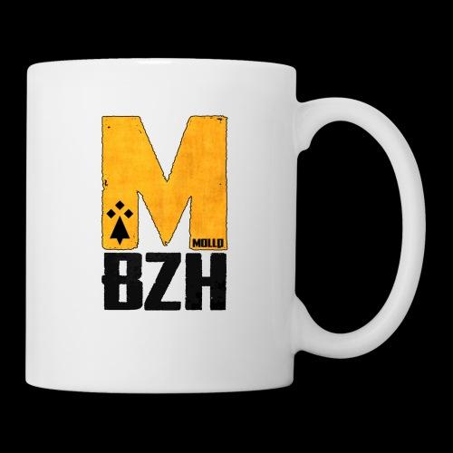 Logo en noir - Mug blanc