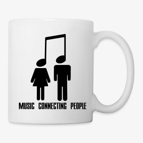 Music Connecting People - Tasse