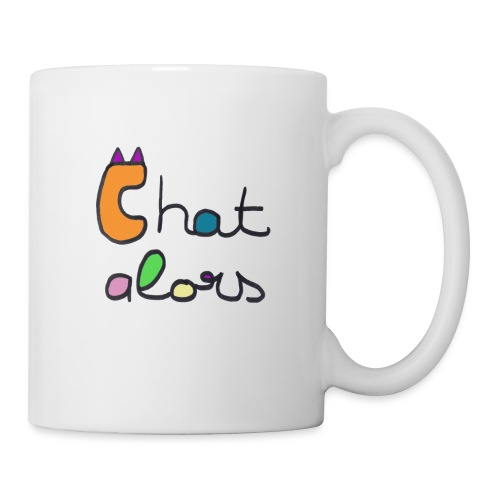 Chat Alors - Mug blanc
