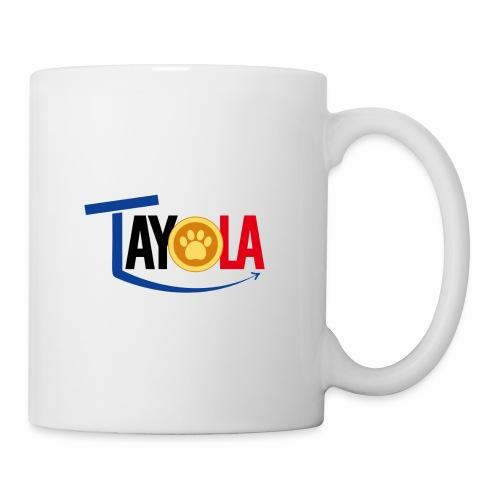 TAYOLA Nouveau logo!!! - Mug blanc
