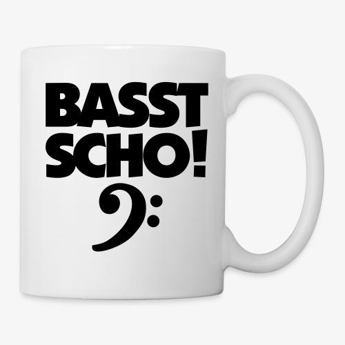 BASST SCHO! Bass Design für Bassisten - Tasse