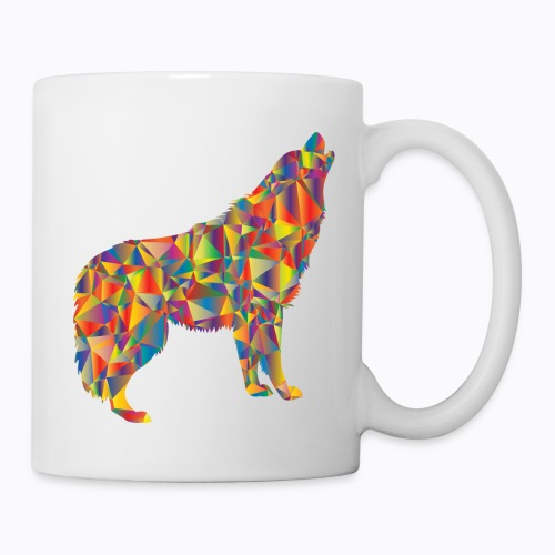 howling colorful - Mug