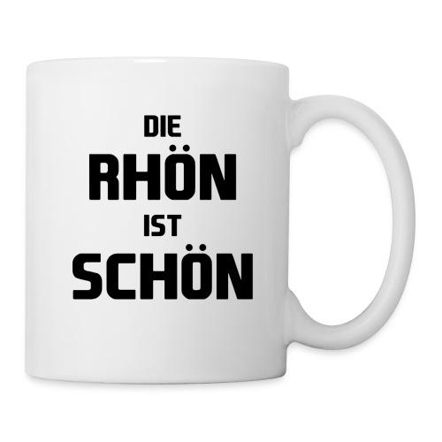 Die Rhön ist Schön! (Schwarz) - Tasse