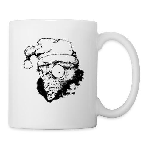 Monkey Christmas - Mug blanc