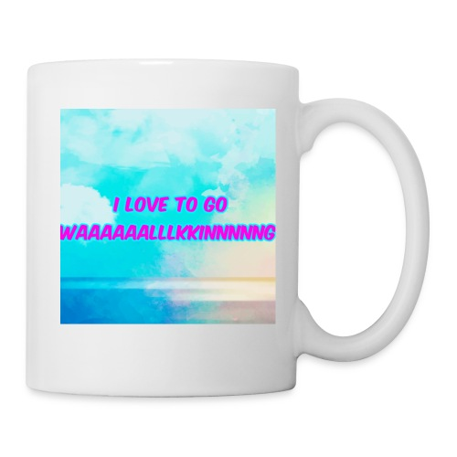 I love to go waaaaaalllkkinnnnng Official Merch - Mug