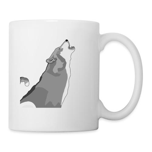 Wolf heulend - Tasse
