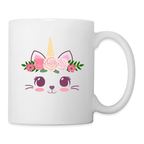 Tasse mit niedlicher Katze - Tasse