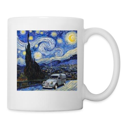 Notte stellata Van Gogh Citroen 2cv furgonette - Tazza