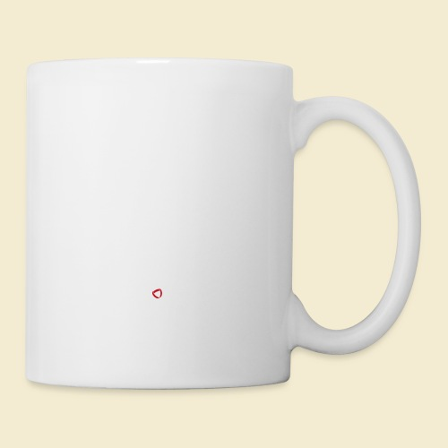 Radball | Heart Monitor White - Tasse