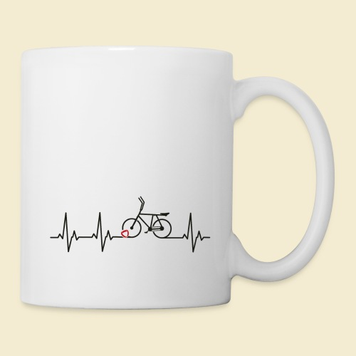 Radball | Heart Monitor Black - Tasse