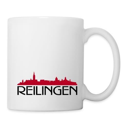 Reilinger Ortsshilhouette - Tasse
