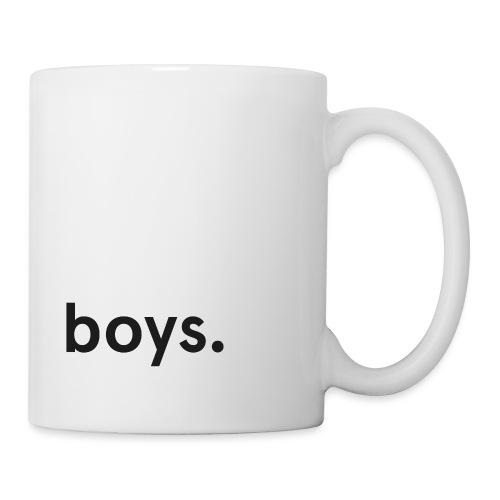 boys dot black - Mugg