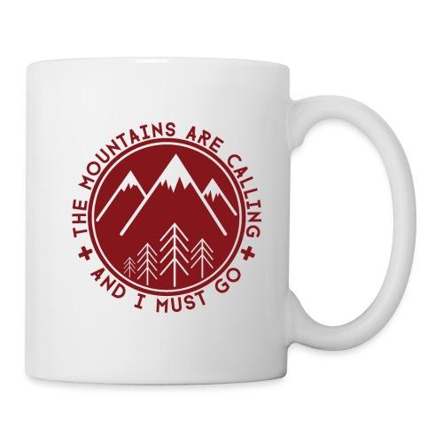 The Mountains are Calling - Mug