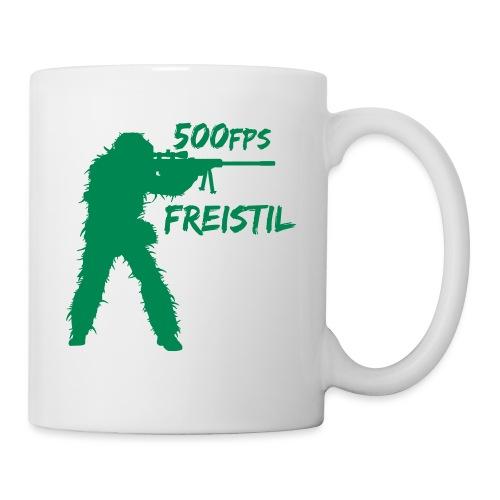 500fps Freistil - Tasse