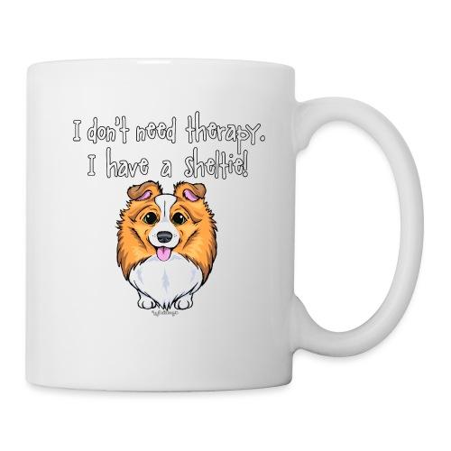 Sheltie Dog Therapy 2 - Mug