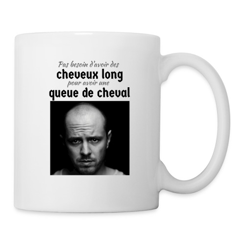 Humour Chauve ! - Mug blanc