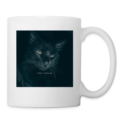 Schwarze Katze - Tasse