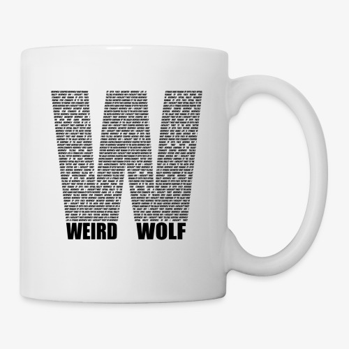 The Big W (Black) - Mug