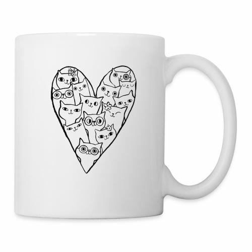 I Love Cats - Mug