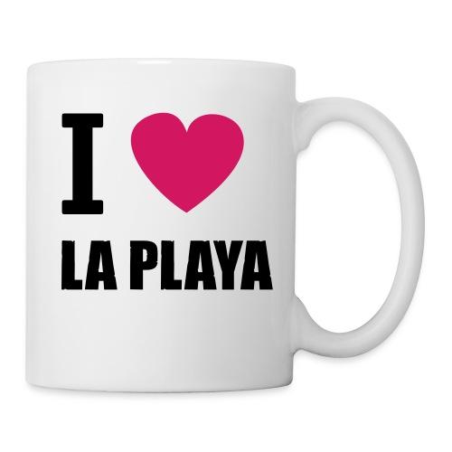 I love LA PLAYA Herz solo klein - Tasse
