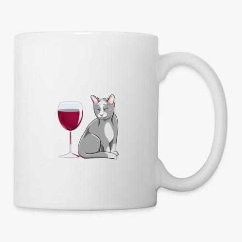 Wine Alone Cats - Muki