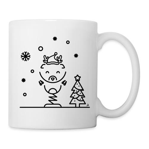 Noël reindeer 1 - Mug blanc