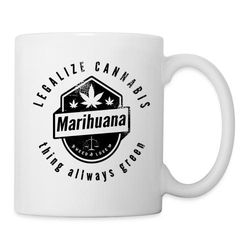 Legalize Cannabis Smoke Weed VINTAGE - Mug