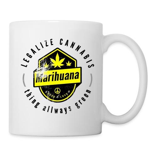 Legalize Cannabis Smoke Weed VINTAGE - marijuana - Mug