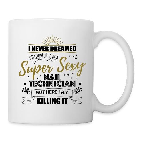 Super Sexy Nail Technician T-Shirt for Nail Salon - Mok