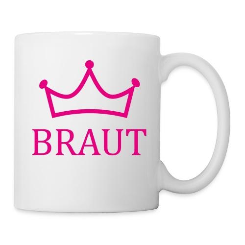 Braut Krone pink Junggesellinnenabschied - Tasse