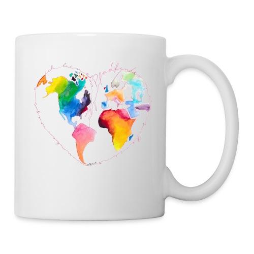 Ich bin als Pfadfinder meines Herzens unterwegs - Tasse