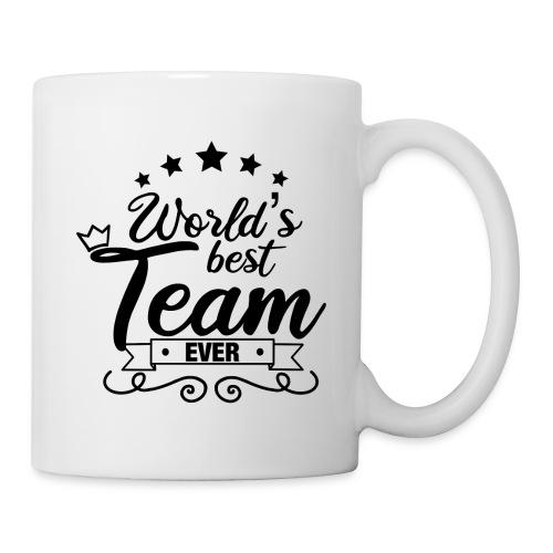 World's best team ever / Meilleure équipe du monde - Mug blanc