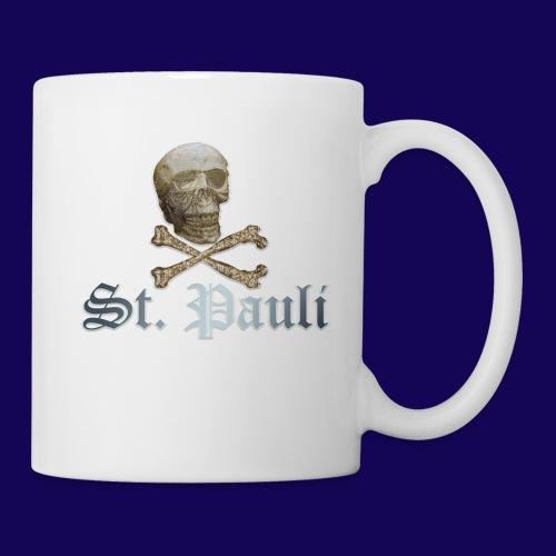 St. Pauli (Hamburg) Piraten Symbol mit Schädel - Tasse