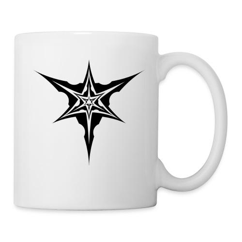 Psybreaks visuel 1 - black color - Mug blanc