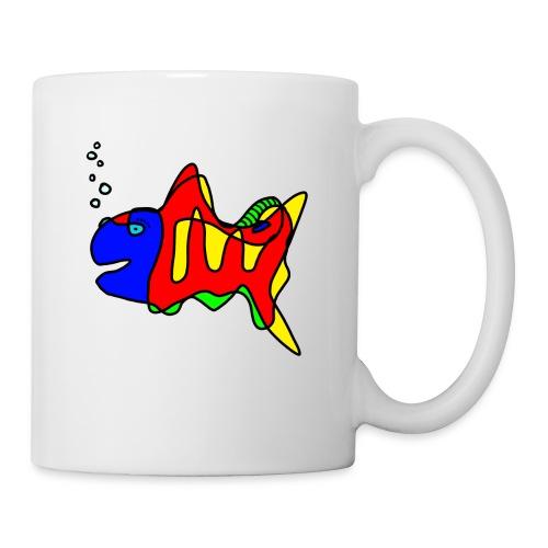 Fisch ....Tusche Fisch - Tasse