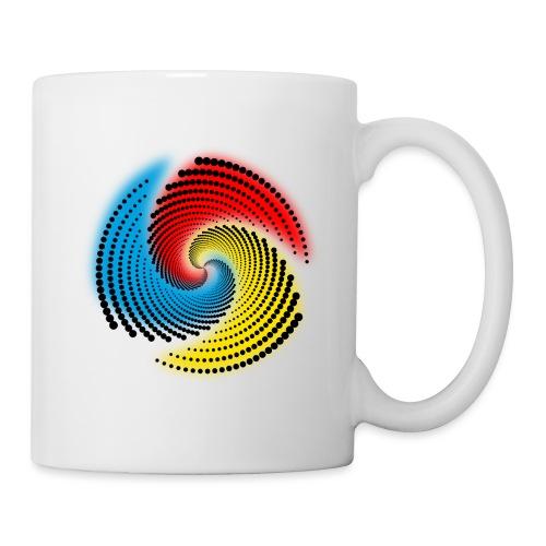 Farbspirale - Tasse