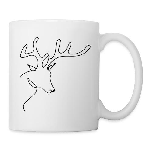 Logo Cerf - Mug blanc