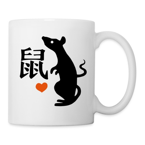 Rat - Mug blanc
