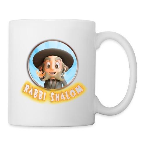 RabbiShalomTeeShirt4 png - Mug blanc