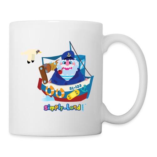 capitaine bateau - Mug blanc