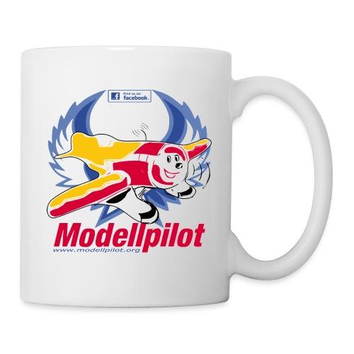 Modellpilot Logo blau - Tasse